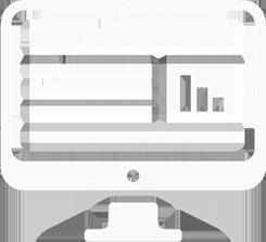 icono desarrollo web grande blanco